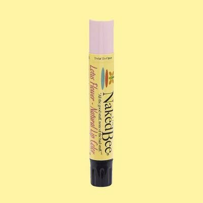 The Naked Bee Natural Lip Color-Lotus Flower