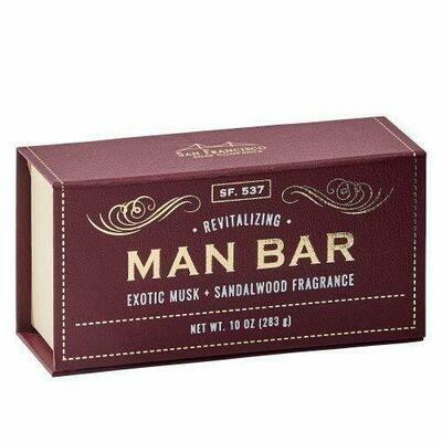 Man Bar Revitalizing Exotic Musk and Sandalwood