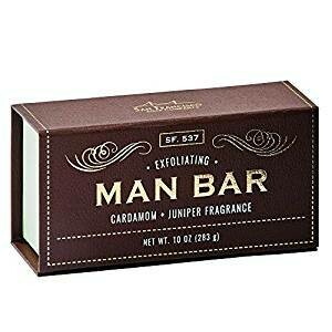 Man Bar Exfoliating Cardamom and Juniper
