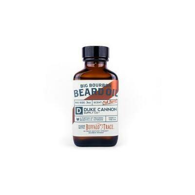 Big Bourbon Beard Oil