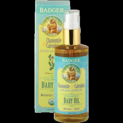 Natural & Organic Baby Oil-Badger