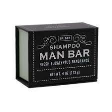 Shampoo Man Bar-Fresh Eucalyptus
