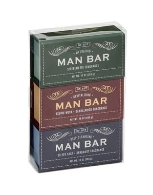 Man Bar Gift Set-Set of 3 soaps