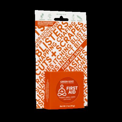 First Aid Travel Tin .7 oz Green Goo
