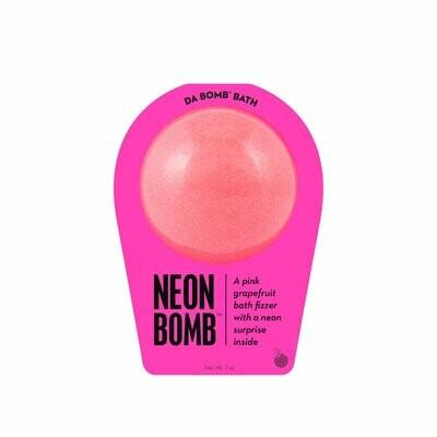 Neon Pink Bath Bomb-Da Bomb