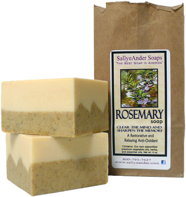 Rosemary Soap SallyeAnder
