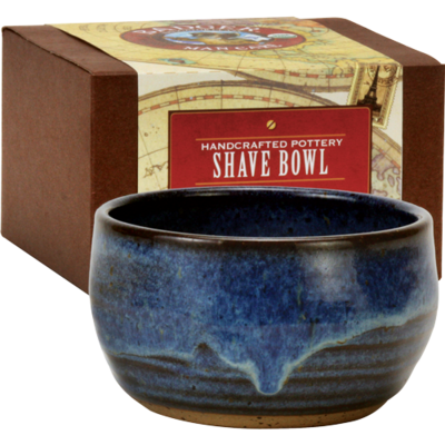 Badger Man Care Pottery Shave Bowl