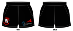 Battleship Rugby Game Shorts