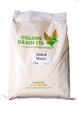 Milled Maize - 25kg