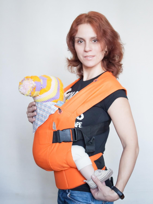 Эрго рюкзак Karaush Мандарин