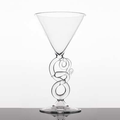 Martini Glass - Serpentine Collection