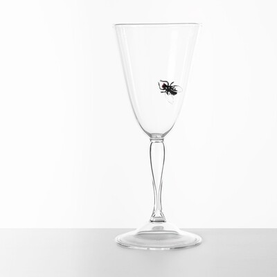 Hand Blown Wine Glass - Vanitas Collection