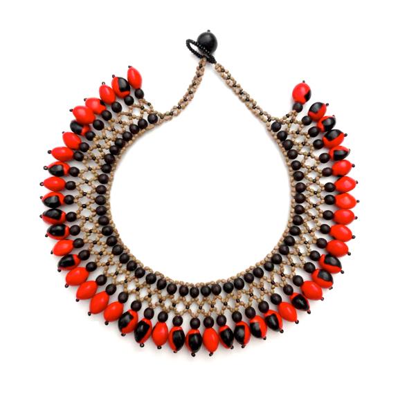 Awajun Bea Beaded Necklace ABEN1070