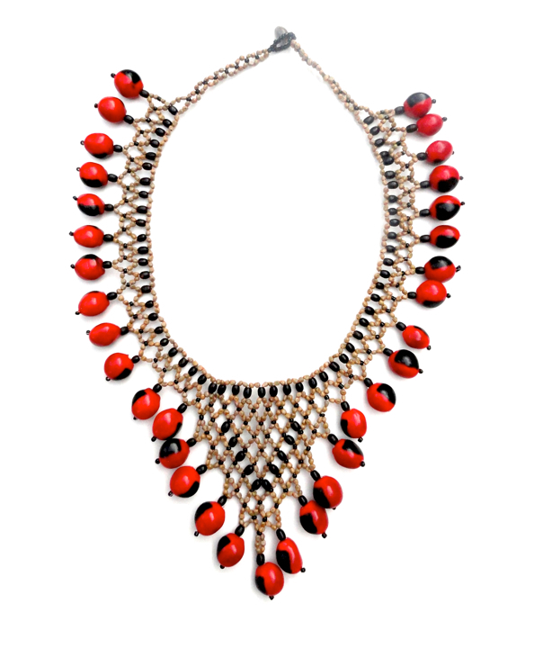 Awajun Naya Beaded Necklace ANYN1072