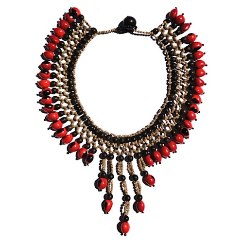 Amazon Traditional Beaded Necklace ATN1045