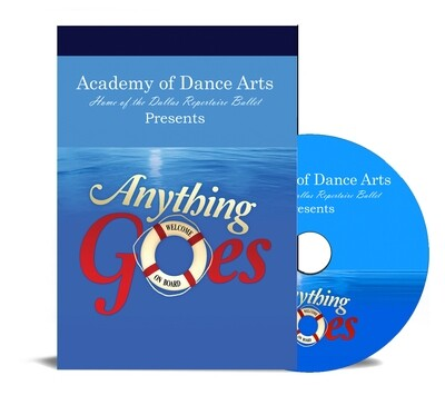 Anything Goes 2019 DVD