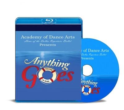 Anything Goes 2019 Blu-ray