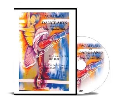 DANCESPIRATIONS 2014 DVD