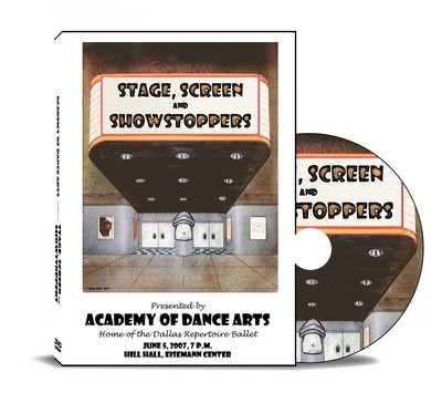Stage, Screen and Showstoppers 2007 DVD