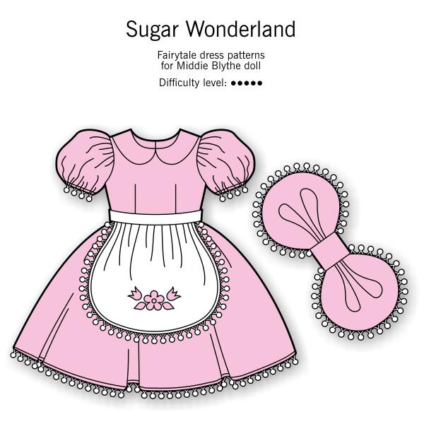 Sugar Wonderland for Middie Blythe dolls DIGITAL DOWNLOAD