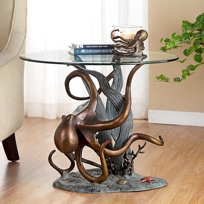 DESIGNER TABLE-OCTOPUS IN SEAGRASS