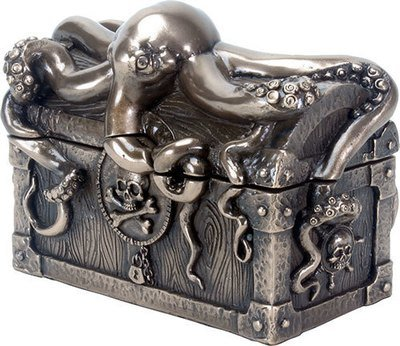 TREASURE KEEPER-OCTOPIED PIRATE CHEST