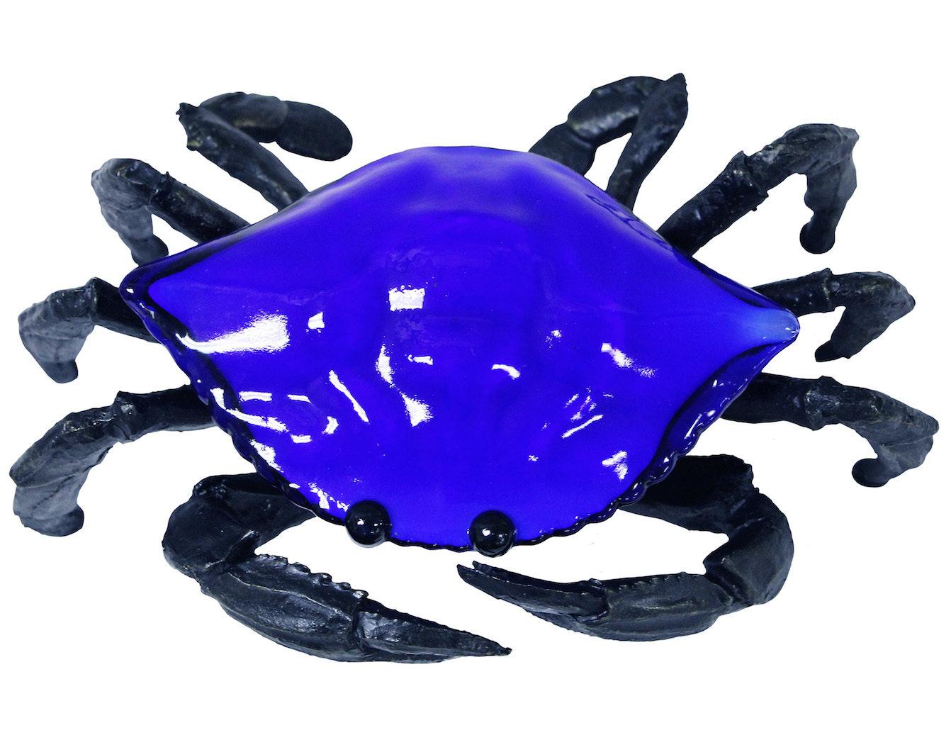 ACCENT LAMP-BLUE CRAB