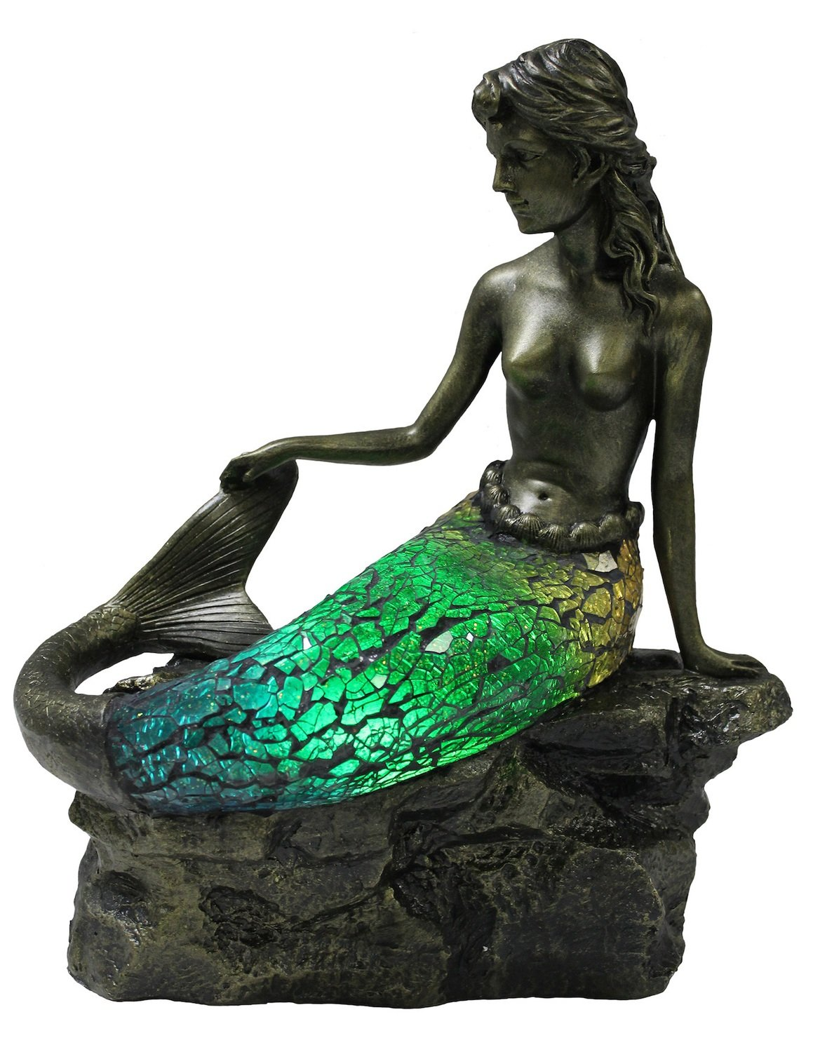 ACCENT LAMP-OCEAN REEF MERMAID