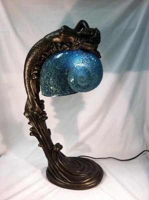 ACCENT LAMP-SEA GODDESS