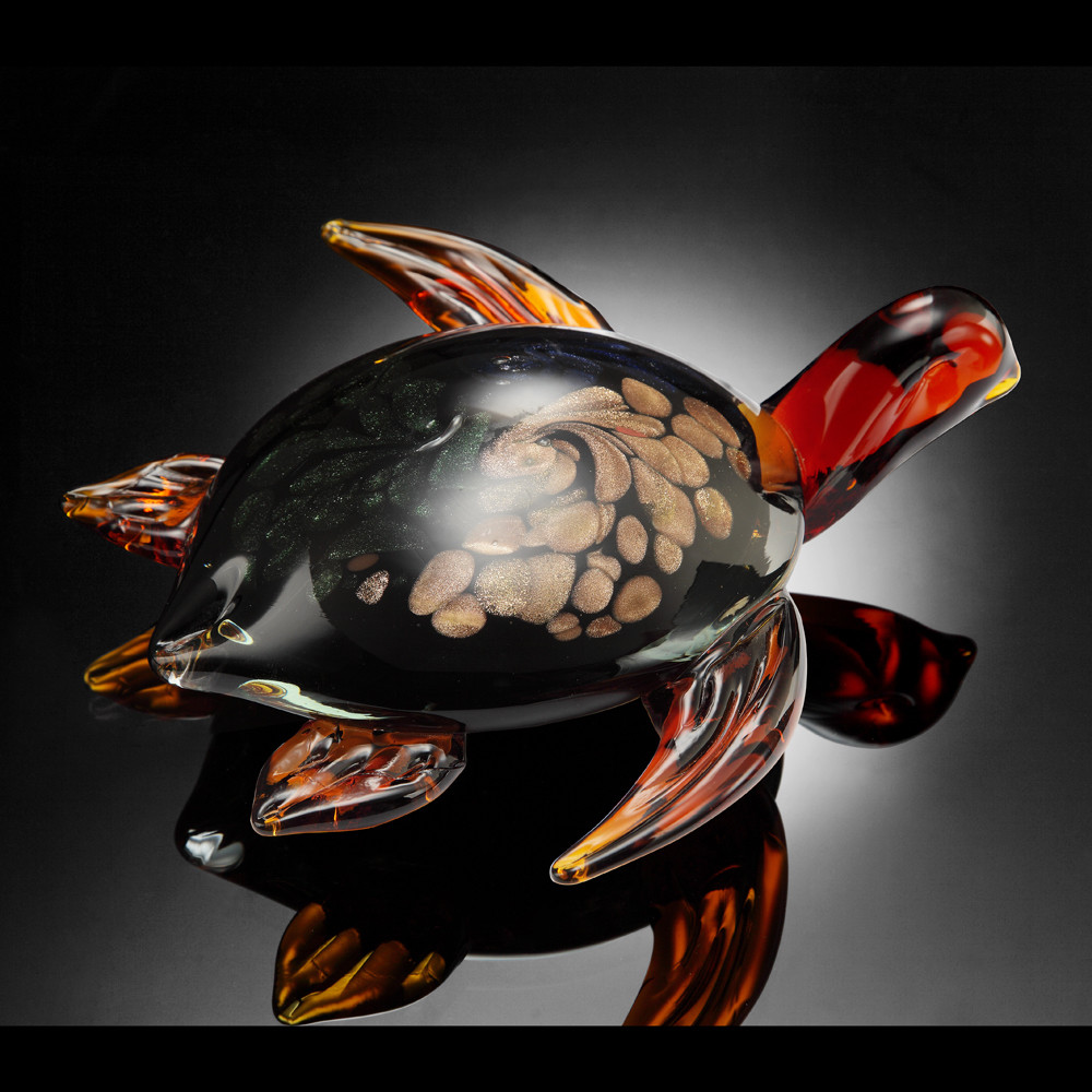 ART GLASS-SEATURTLE