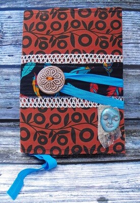Fabric Covered Journal