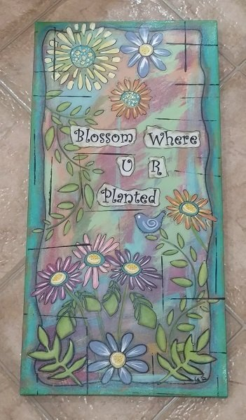 Bloom Where U R Planted