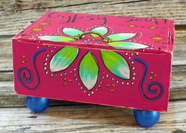 Hand Painted Box