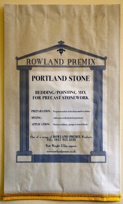 Portland Stone Bedding/Pointing Mix: 25kg