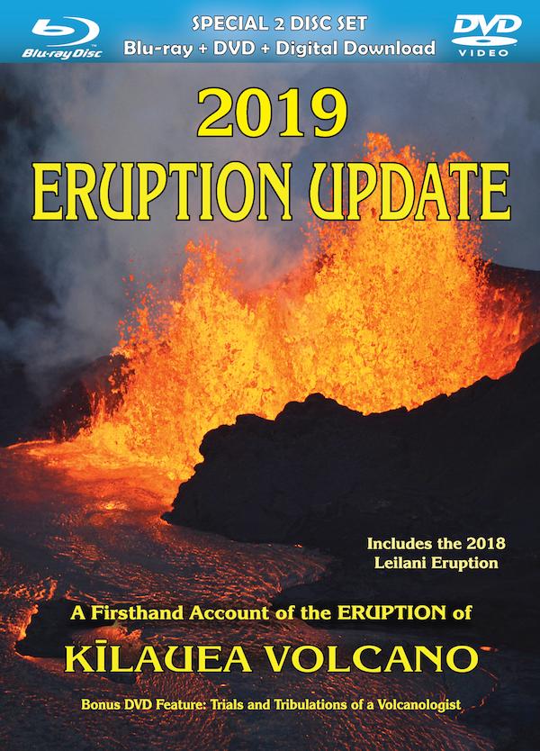 2019 Eruption Update DVD & BluRay