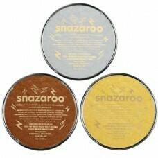 Аквагрим для детей Snazaroo Metallic 18 мл