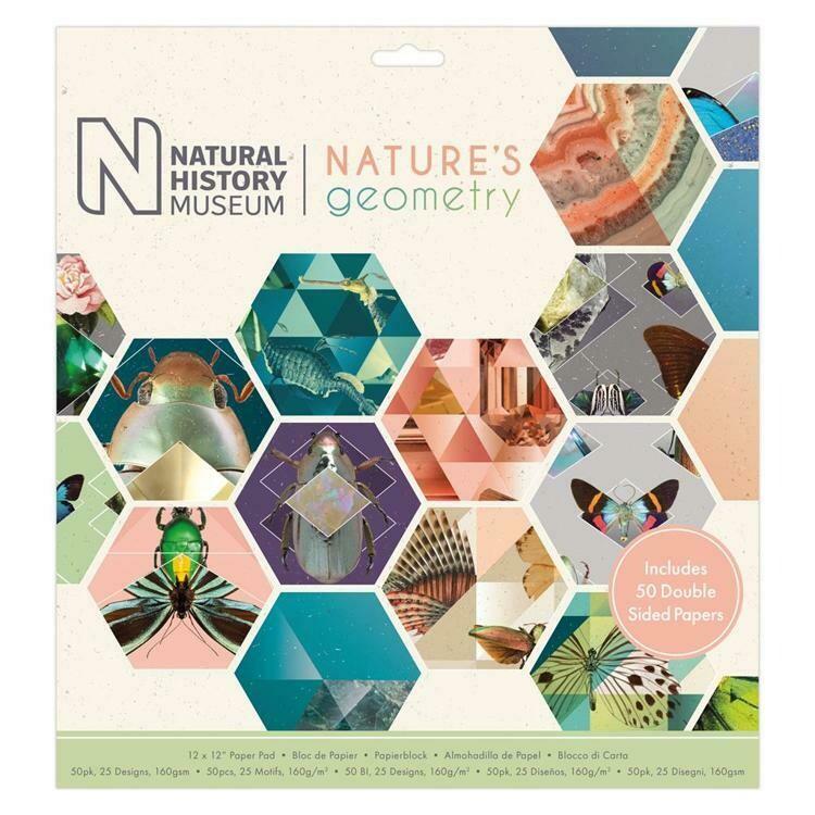 Набор бумаги 30*30 см Nature's Geometry