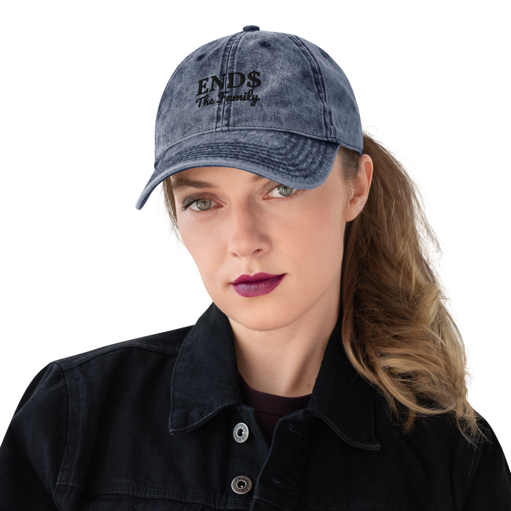 ENDS Vintage Cotton Twill Cap