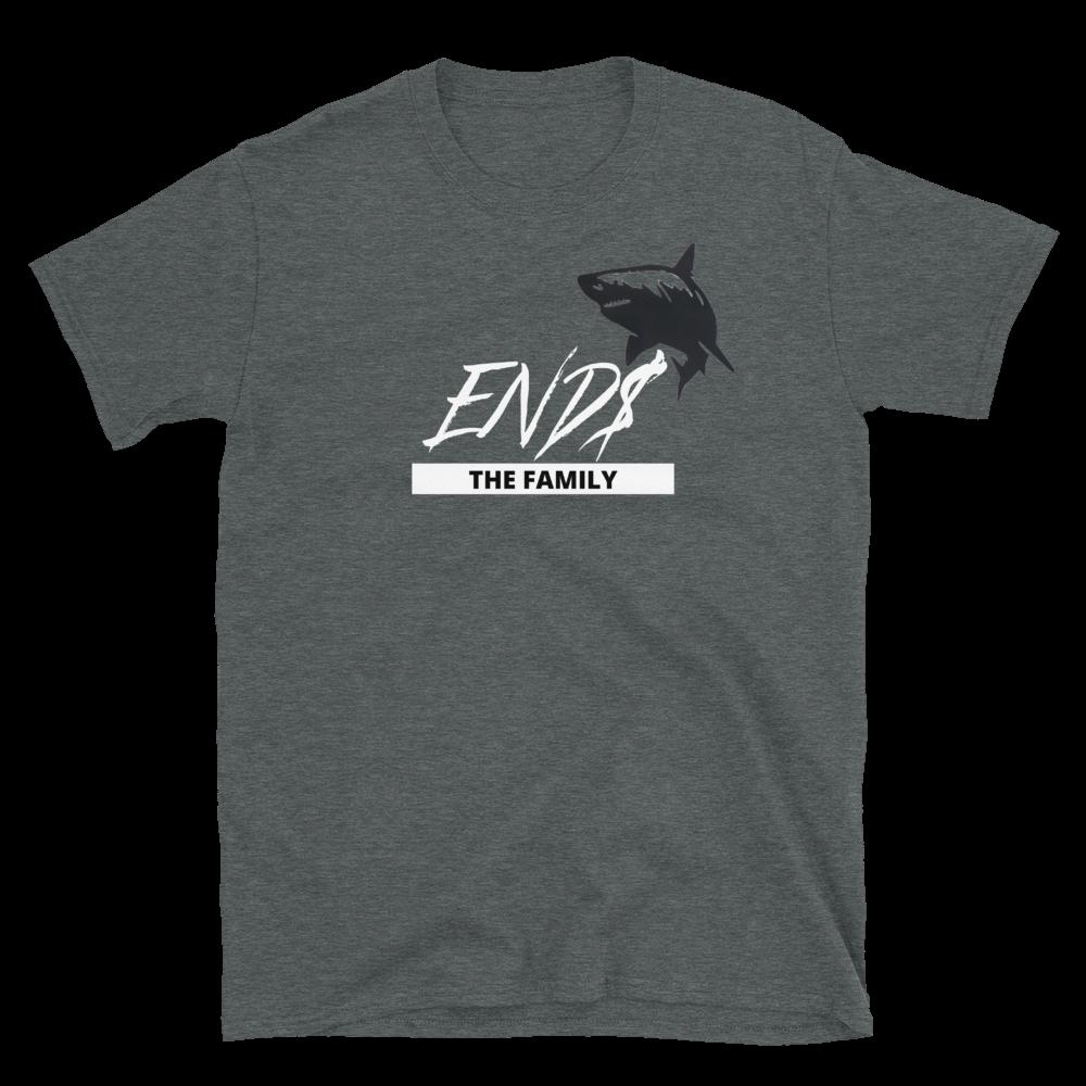 ENDS Script Shark The Family Short-Sleeve Unisex T-Shirt