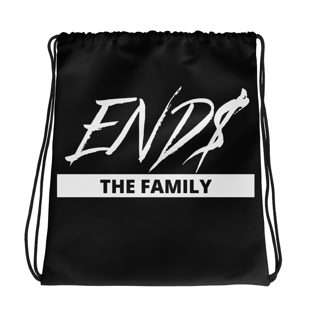 ENDS The Family Drawstring bag
