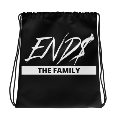 ENDS The Family Drawstring bag