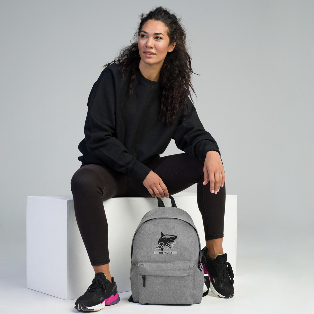 END$ The Family Shark Mentality Backpack