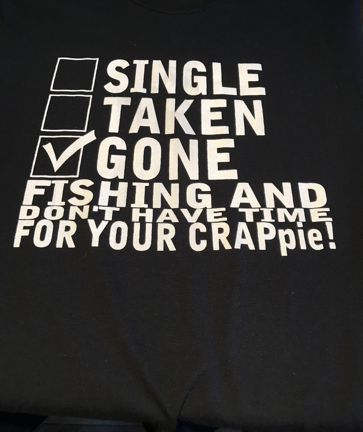Don't Have Time for your CRAPpie