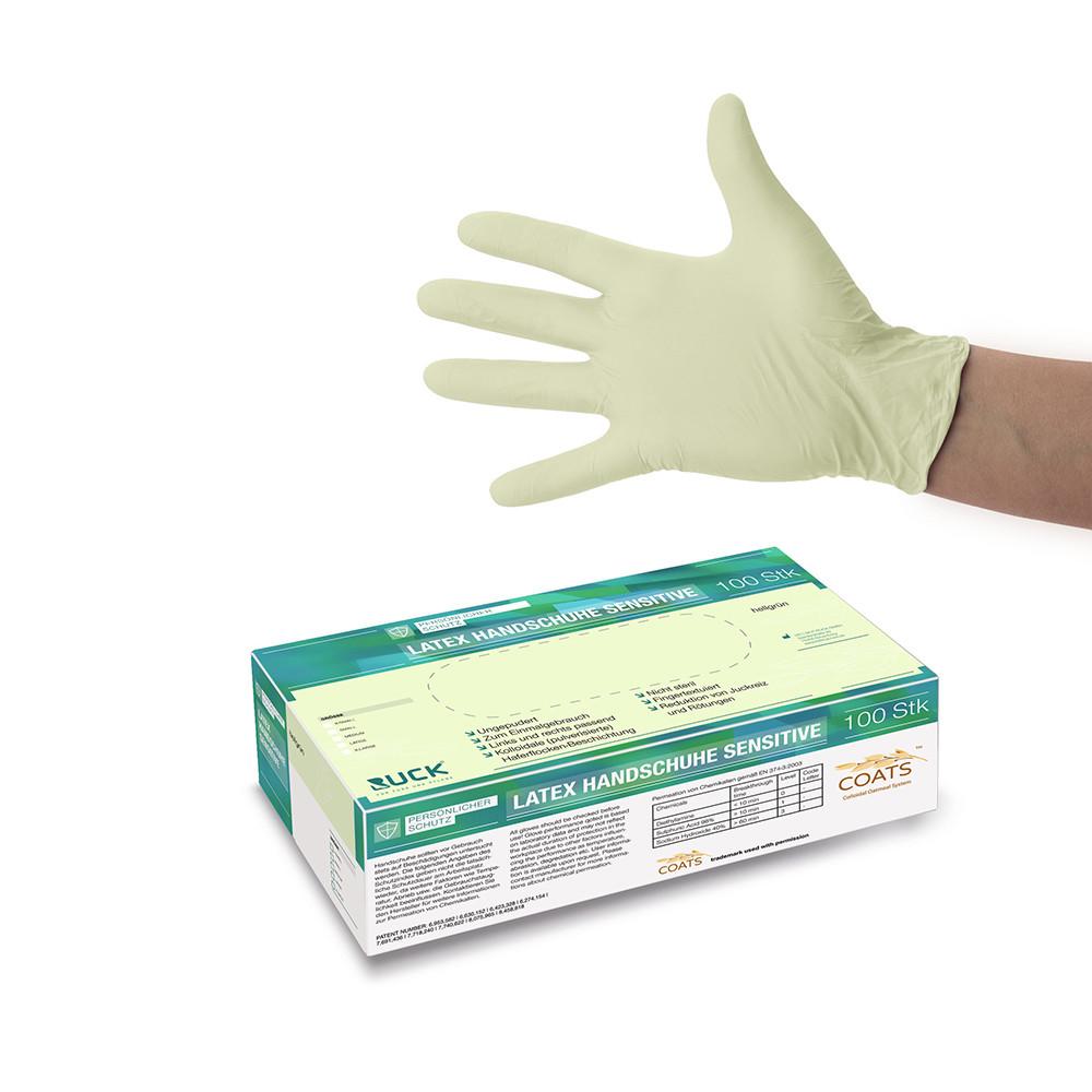 Latexl gloves Sensitive / Латекс перчатки для чувствительной кожи