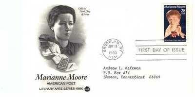 Marianne Moore, Sobre primer día