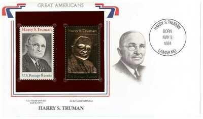 Harry S. Truman, Timbre y réplica 22 k