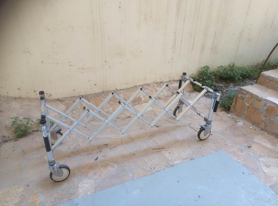 Καρότσι μεταφοράς φερέτρου (αλουμίνιο) - Alluminum church trolley