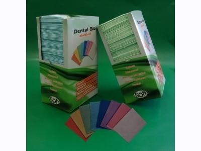 Οδοντιατρική πετσέτα χωρίς λαιμόκοψη πορτοκαλί 33εκ x 45εκ (500 τεμάχια)