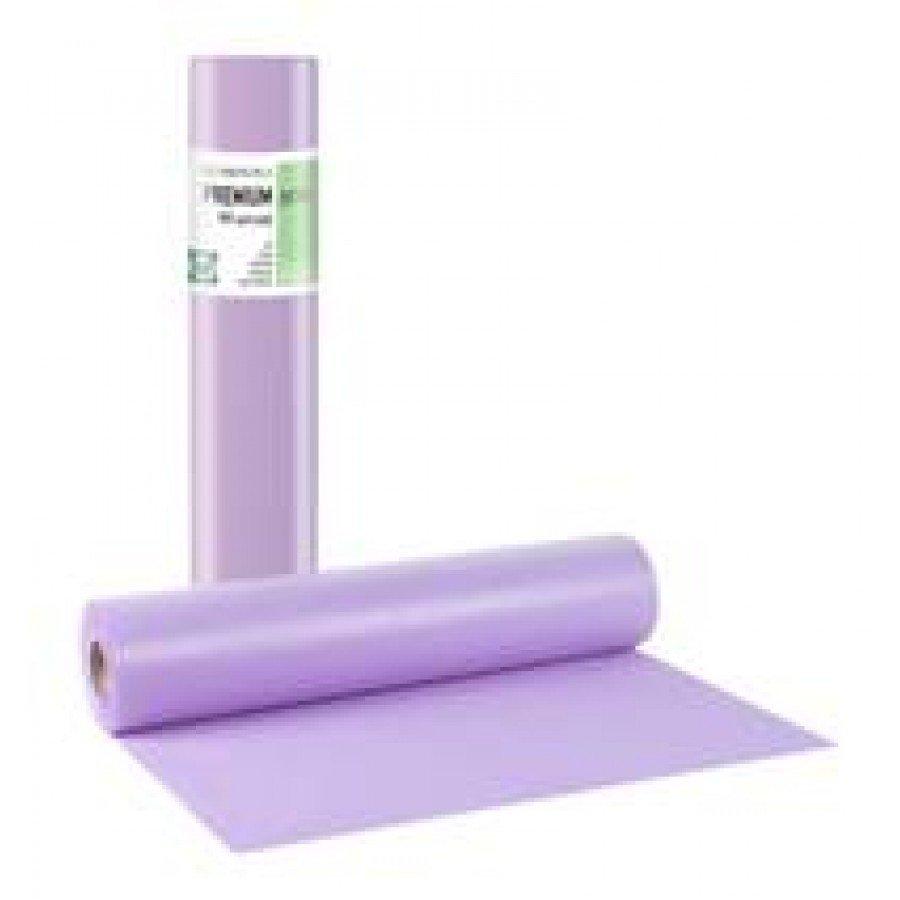 Πλαστικό+χαρτί κόλλα μωβ 68εκ x 50μ. (12 τεμάχια)