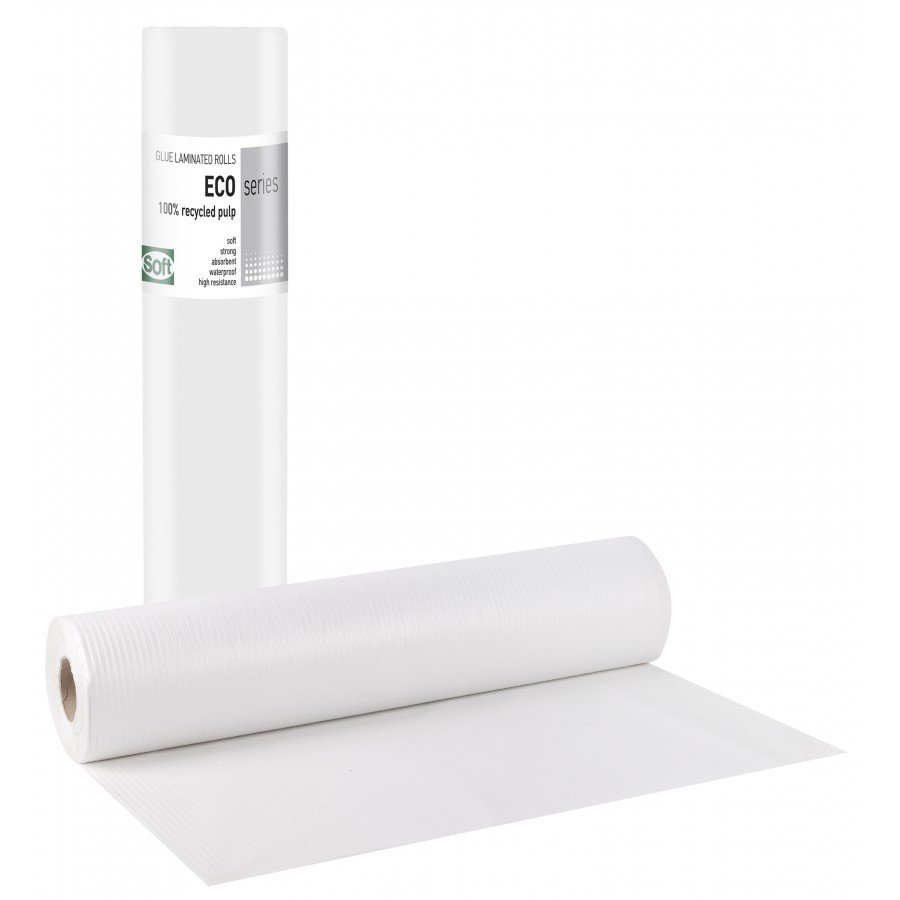 Πλαστικό+χαρτί eco 58εκ x 50μ. (12 τεμάχια)